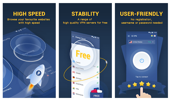 Hi VPN Pro Mod Apk